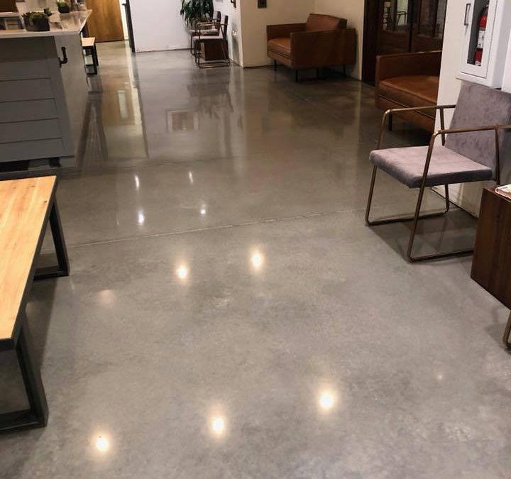 1 Concrete Polishing