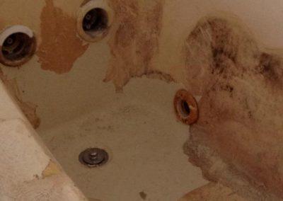 Tub Refinishing Arkansas Bathtub Resurfacing Tub With Liner Problems Before