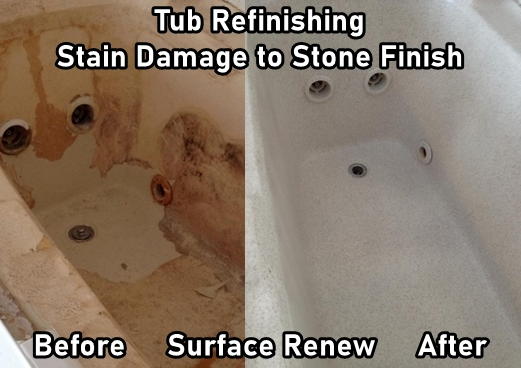 Tub Refinishing Arkansas Before And After Tub Services