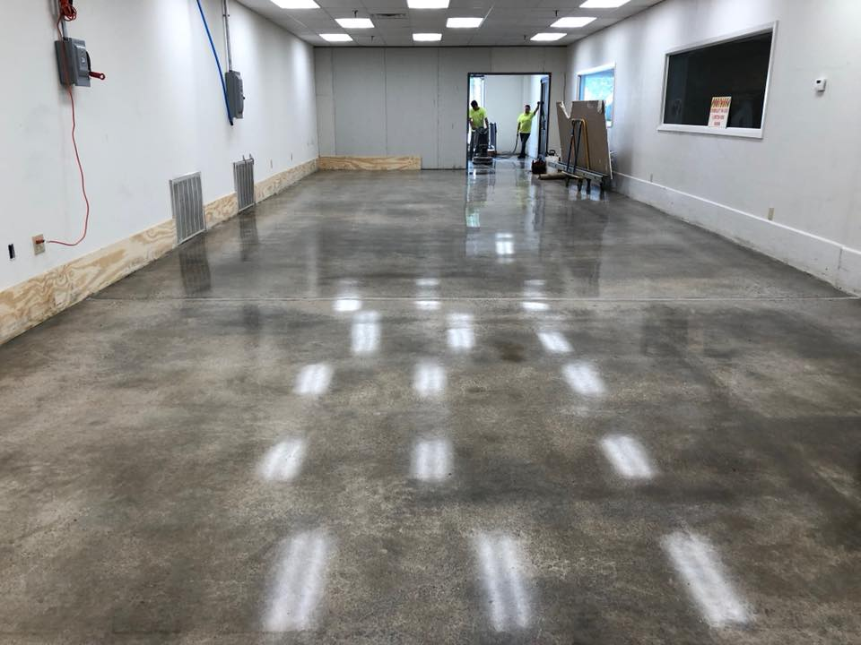 Concrete Polishing Little Rock Great Job