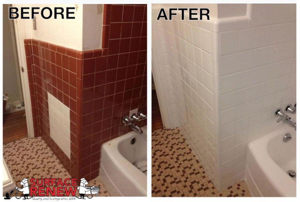 Wall Tiles Bathroom Color Change